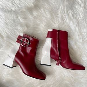 Salar milano Martha colorblock booties